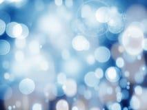Abstraktes Lichtgirlande des Hintergrundes Weiche unscharfe Weihnachts Stockbilder