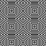 Abstraktes lineares Muster Stockfoto