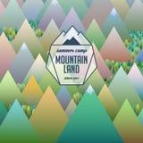 Abstraktes Logo und Hintergrund Stockbild