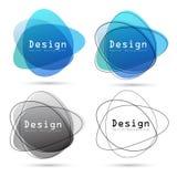 Abstraktes Logogestaltungselement vektor abbildung