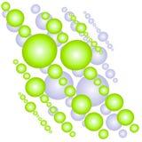Abstraktes Luftblasen-Muster 2 Lizenzfreie Stockfotos