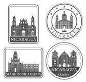 Abstraktes Managua lizenzfreie abbildung