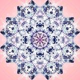 Abstraktes Mandalabild Stockbilder