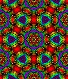 Abstraktes Mehrfarbenmosaikmuster, bunter Fliesenbeschaffenheitshintergrund, Regenbogen färbte nahtlose Illustration Stockfotografie
