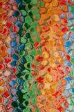 Abstraktes Mehrfarbenmuster Stockfoto