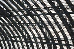 abstraktes Metall in englan und im Hintergrund Stockfoto