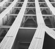 abstraktes Metall im englan London-Geländerstahl und -hintergrund Lizenzfreies Stockfoto