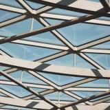 abstraktes Metall im englan London-Geländerstahl und -hintergrund Lizenzfreies Stockbild