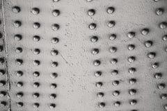 abstraktes Metall im englischem Geländerstahl und -hintergrund lan London Lizenzfreies Stockfoto