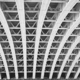 abstraktes Metall im Geländerstahl und -hintergrund Englands London Lizenzfreie Stockfotografie
