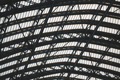 abstraktes Metall im Stahl und im Hintergrund Stockfoto