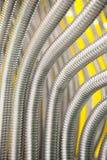 Abstraktes Metall leitet Hintergrund Stockbild