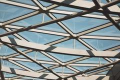 abstraktes Metall in London-Hintergrund Lizenzfreie Stockfotografie