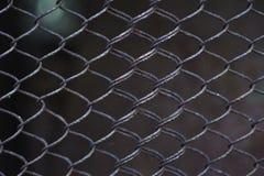 Abstraktes Metallgitter. Rohes Muster Lizenzfreie Stockbilder