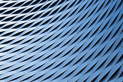 Abstraktes metallisches Muster Stockfotos