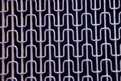 Abstraktes Metallrasterfeld Lizenzfreies Stockfoto