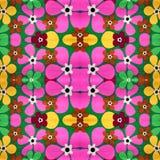 Abstraktes mit Blumenmuster Lizenzfreie Stockfotos