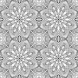 Abstraktes mit Filigran geschmücktes Muster lizenzfreie abbildung