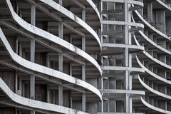 Abstraktes modernes Architekturfragment Stockfotografie