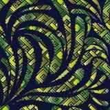 Abstraktes modernes nahtloses Muster Paisleys vektor abbildung
