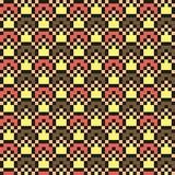 Abstraktes modernes nahtloses nähendes Muster in den Eiscremefarben Stockfotografie