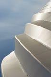 Abstraktes modernes Stadionsdachdetail Stockbild
