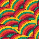 Abstraktes modisches geometrisches nahtloses Musterdesign Vektor modern Lizenzfreies Stockfoto