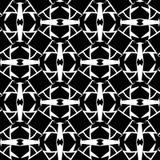 Abstraktes Monochrom verkauft nahtloses Muster des Gitters Stockbild
