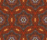 Abstraktes Mosaik deckte Motiv mit Ziegeln Lizenzfreie Stockbilder