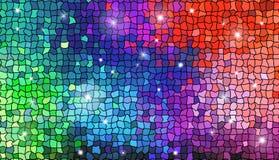 Abstraktes Mosaikbild Stockbild