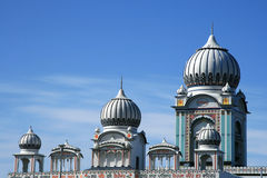 Abstraktes Moschee-Detail Stockfoto