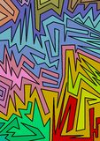 Abstraktes Muster Stockfotografie