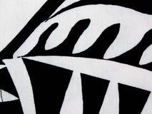 Abstraktes Muster auf dem Gewebe Stockfoto