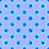 Abstraktes Muster auf dem hellvioletten Hintergrund stock abbildung