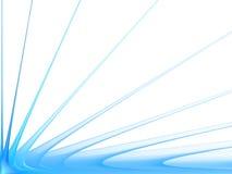 Abstraktes Muster auf einem weißen Hintergrund Stockfotos
