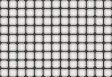 Abstraktes Muster in den grauen und weißen Farben Lizenzfreies Stockfoto
