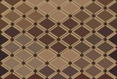 Abstraktes Muster in den warmen Farben Stockbild