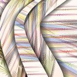Abstraktes Muster der Linien. Stockfoto