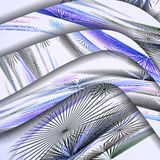 Abstraktes Muster der Linien. Lizenzfreies Stockbild