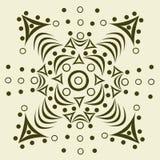 Abstraktes Muster der Verzierung Stockfoto