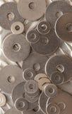 Abstraktes Muster des Hintergrundes von Waschmaschinen Lizenzfreie Stockbilder