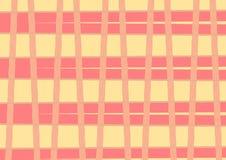 Abstraktes Muster des orange Gelbs Lizenzfreie Stockfotos