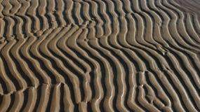 Abstraktes Muster des Sandes Stockbild
