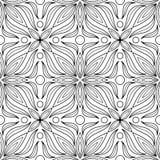 Abstraktes Muster für Färbungsgekritzel Lizenzfreie Stockfotografie
