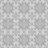 Abstraktes Muster für Färbungsgekritzel Skizze lizenzfreie abbildung
