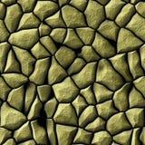 Abstraktes Muster mit goldener Entlastung von Steinen Lizenzfreies Stockbild
