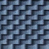Abstraktes Muster mit linearen Wellen - nahtloser Hintergrund vektor abbildung