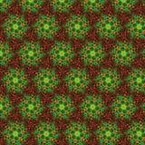 Abstraktes Muster, rot-grün Lizenzfreie Stockfotos
