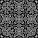 Abstraktes Muster Schwarzes und Whit Lizenzfreie Stockfotos