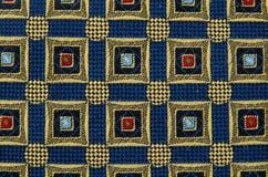 Abstraktes Muster verziertes Gewebe Stockfoto